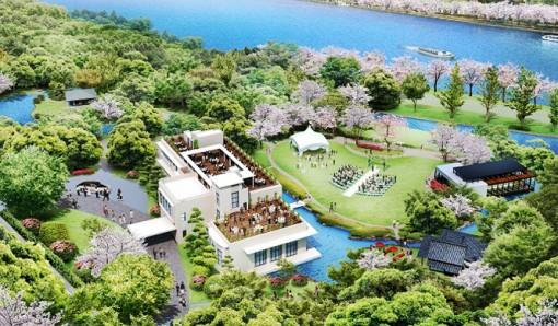 ザ・ガーデンオリエンタル大阪、初の桜祭り開催