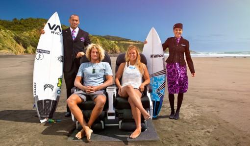 ニュージーランド航空が夏にぴったりの機内安全ビデオを発表