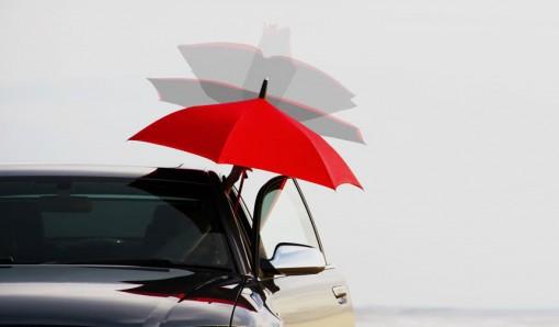 """常識をくつがえす""""逆さに開く傘""""「GAX UMBRELLA」"""