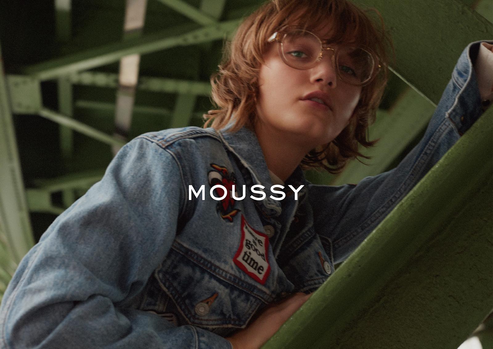 MOUSSY 2016AWキャンペーンヴィジュアル&ムービーにIt Modelのペイトン・ナイトが登場。