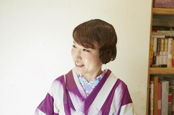 きもの番長・松田恵美さん