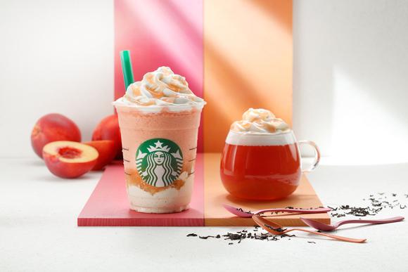 starbucks nectarine frappuccino