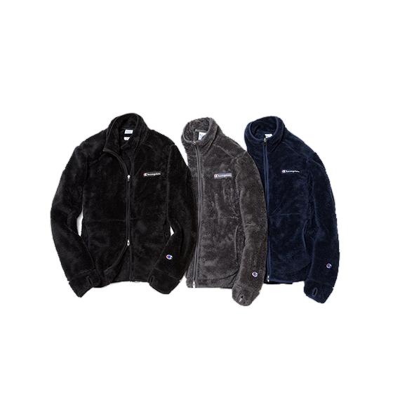 Champion × tk.TAKEO KIKUCHIのフリースジャケットが誕生