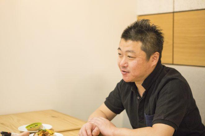 『Kouji&ko』のシェフ、大島今日さん
