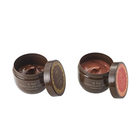 塗って美味しい、Q TEA チョコレートパック