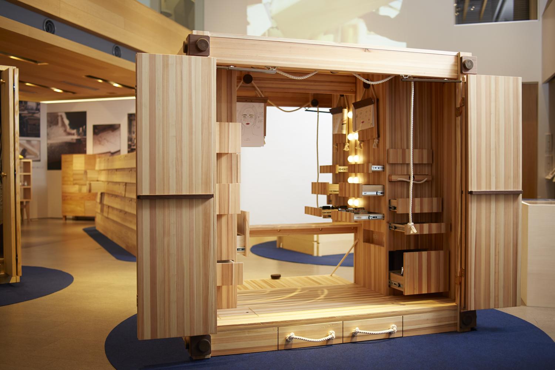 小山薫堂・BEAMS JAPAN鈴木修司・イガリシノブら有名クリエイターが新たに考案「大川のヒキダシ展」