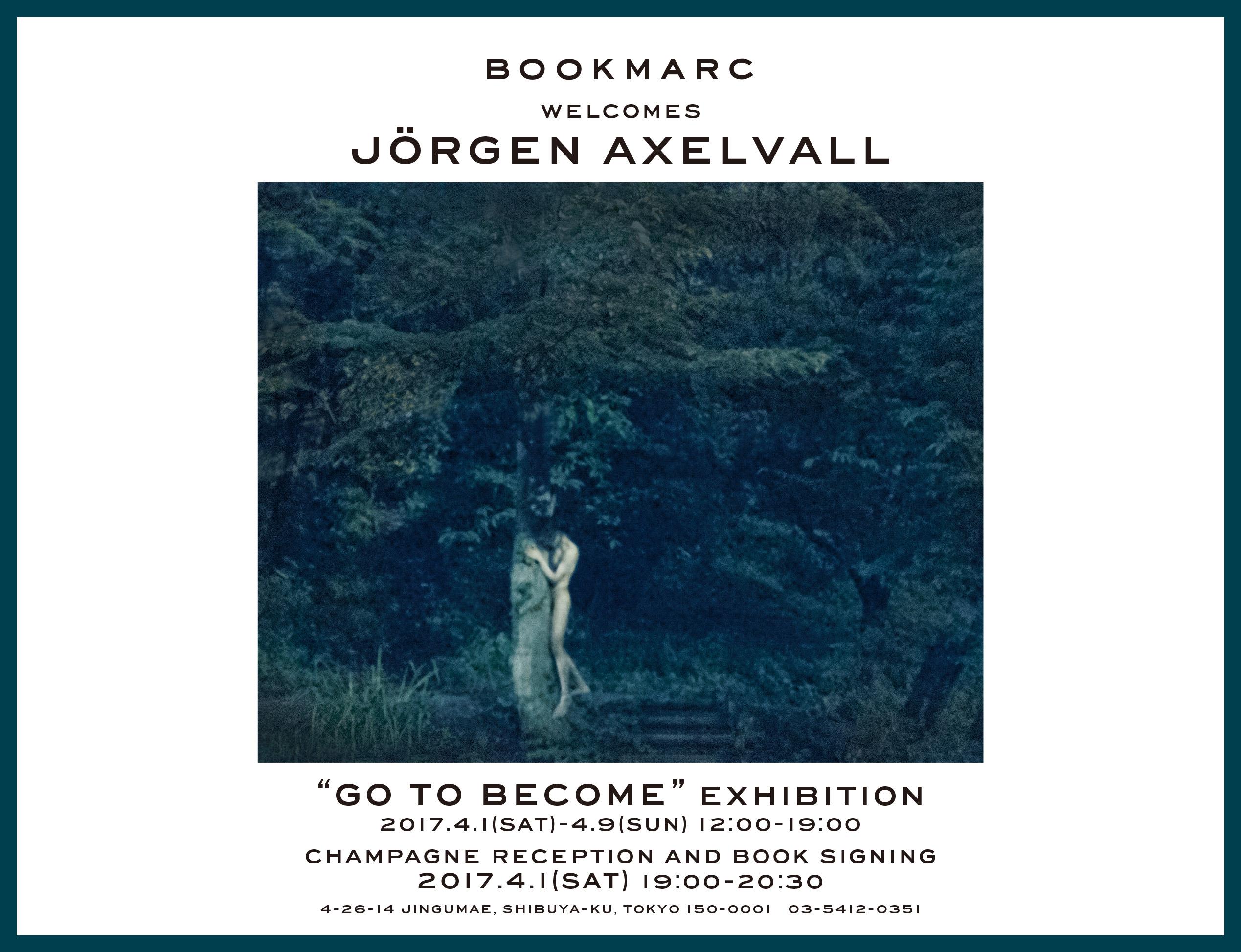 写真家ヨーガン・アクセルバル×詩人・高橋睦郎『BOOKMARC』にて写真展を開催
