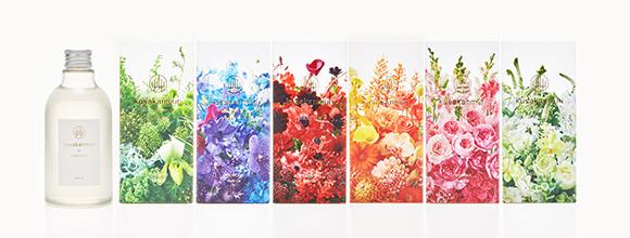 フラワーアート・ユニットplanticaによる、ライフスタイルブランド「kusakanmuri」デビュー
