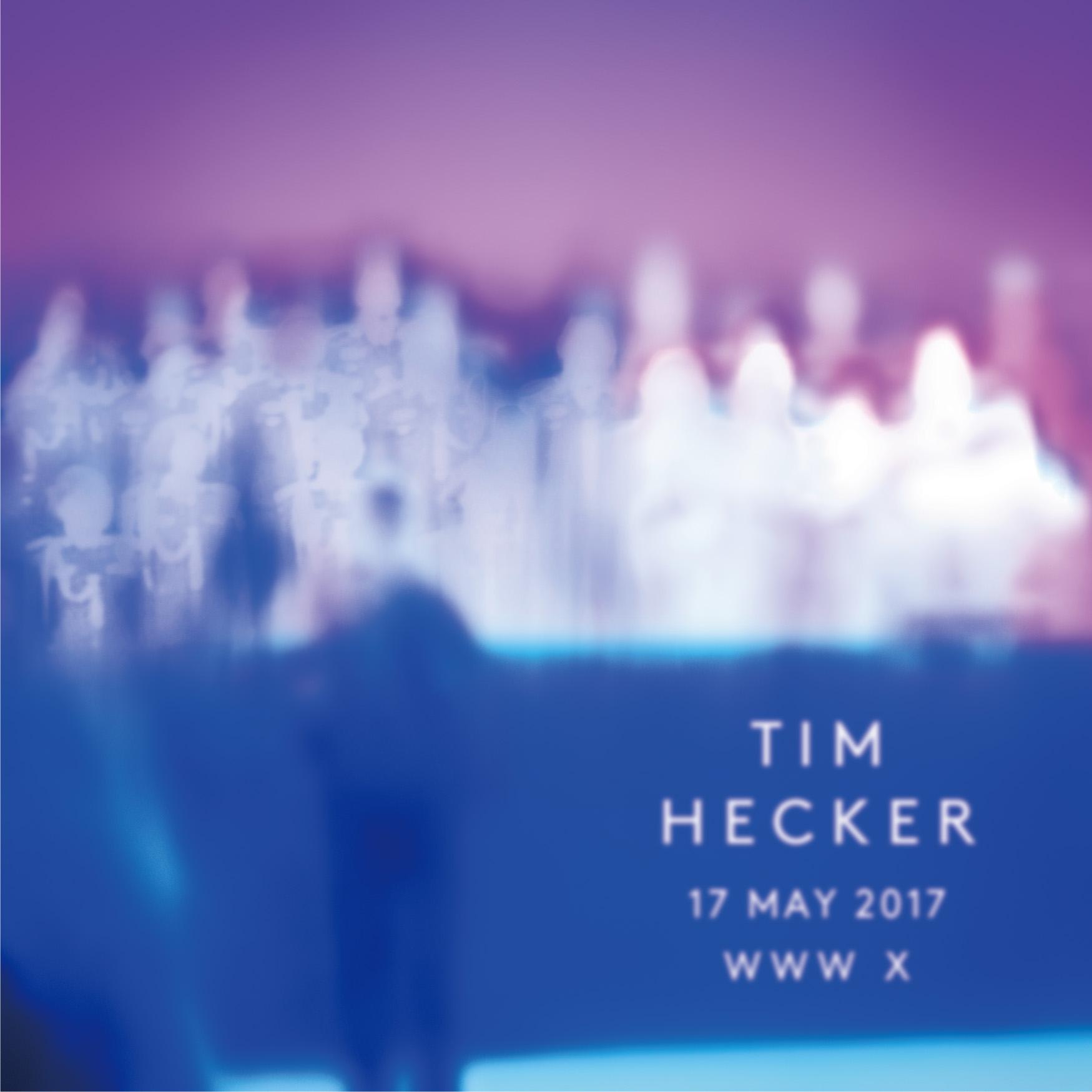音響系トップアーティストTim Hecker、3年ぶりの来日公演が明日WWW Xにて開催!
