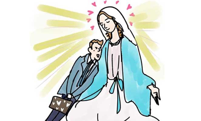 """いい男はどこにいる?結婚したいなら、""""聖母""""になりなさい!"""