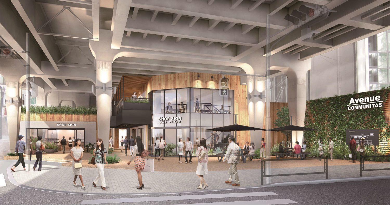阿佐ヶ谷駅前に散歩したくなる新たな商業施設「ビーンズ阿佐ヶ谷」が7月25日にオープン