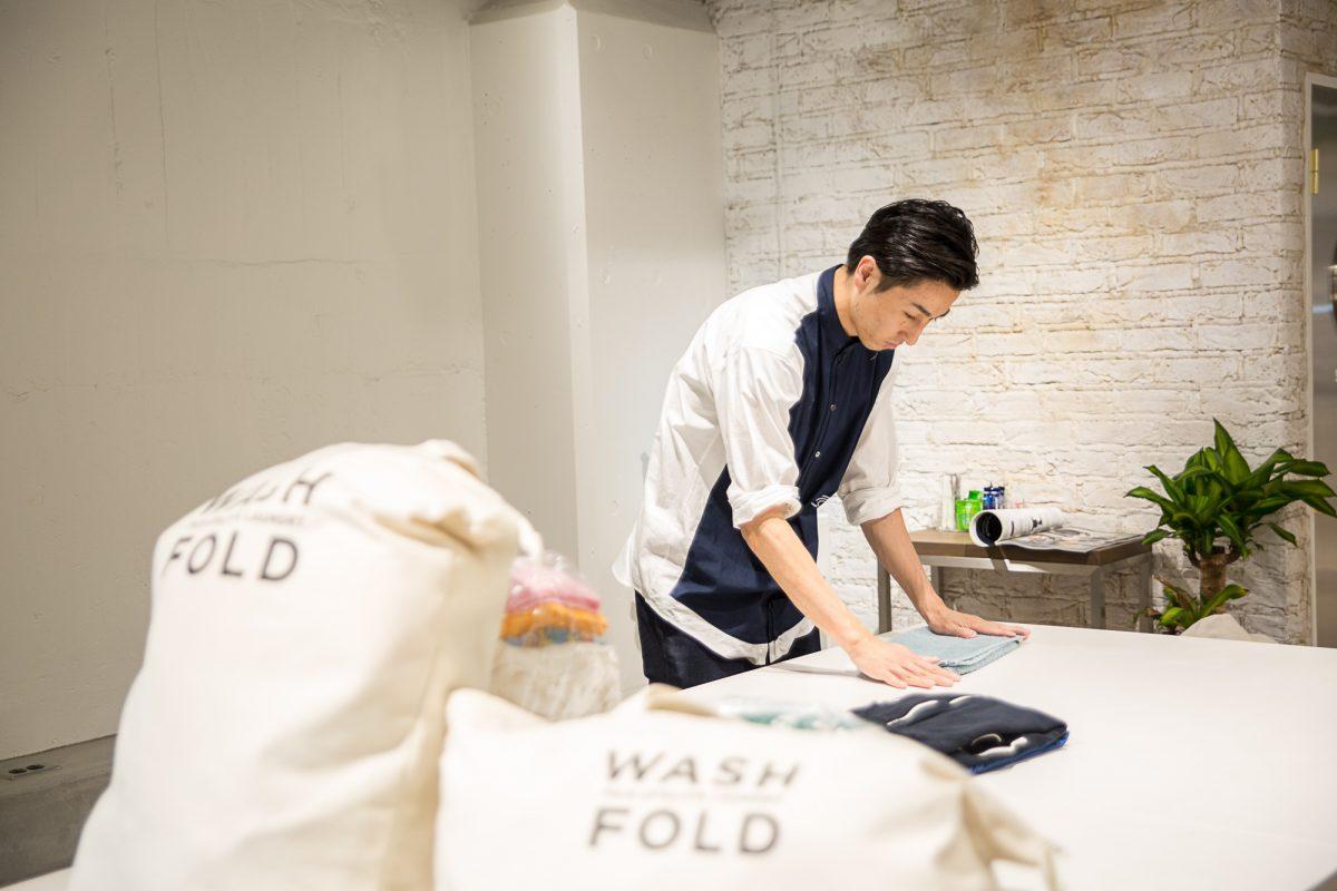 wash&fold 中目黒高架下店