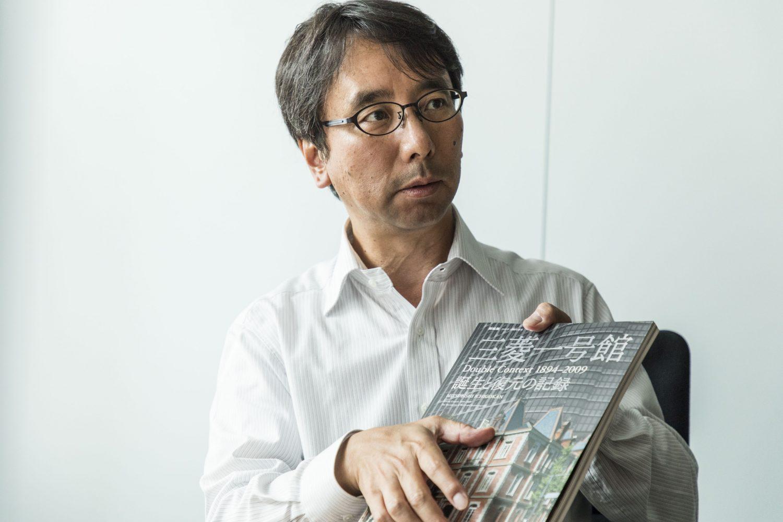 三菱地所設計建築設計三部長の野村和宣さん