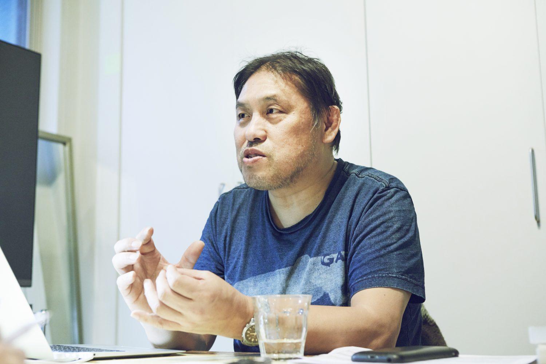 アップリンク代表 浅井隆氏