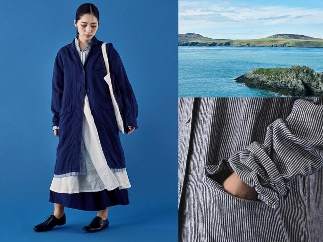 皆川明監修の「POOL」より、「いろいろの服」2018春夏コレクションが発売