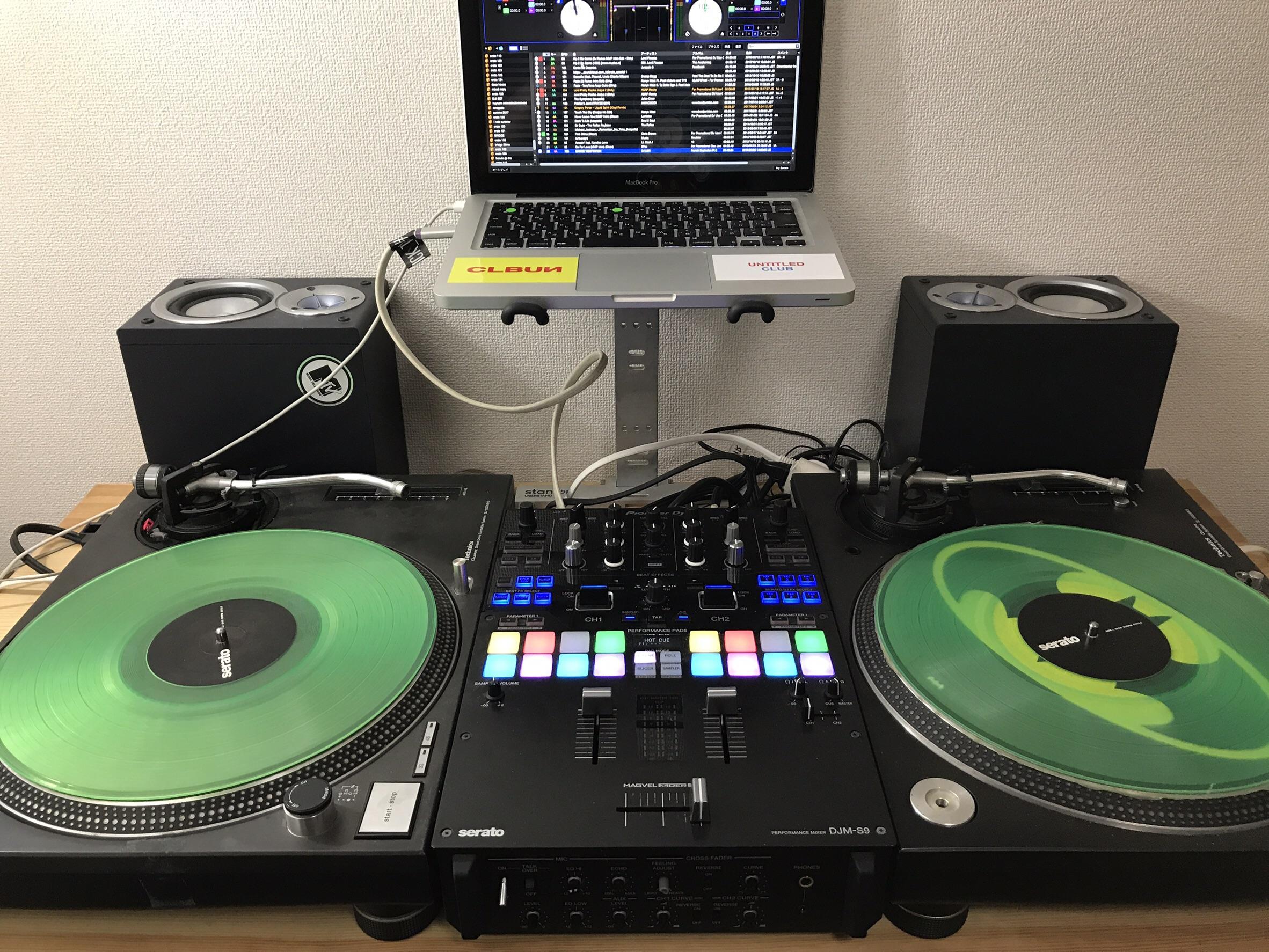 SERATO DJを使用した基本的なセット
