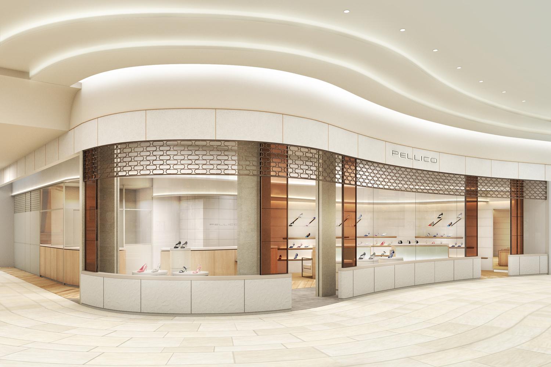 イタリアのシューズブランド「PELLICO」、直営店が東京ミッドタウン日比谷にオープン
